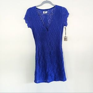 NightCap Purple Lace Dress NWT